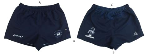 elite rugby shorts hkfc impact prowear