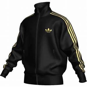 adidas jacke herren schwarz gold