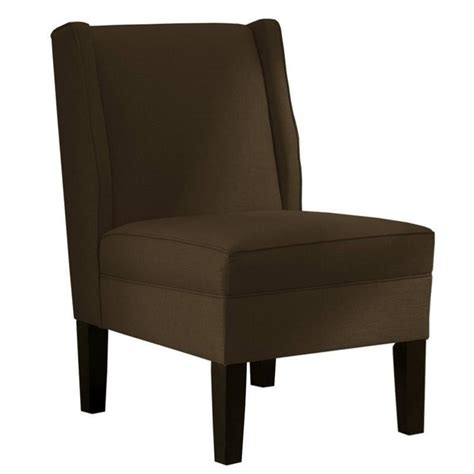 skyline furniture upholstered armless wingback chair in