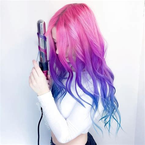 Best 25 Blue And Pink Hair Ideas On Pinterest Blue