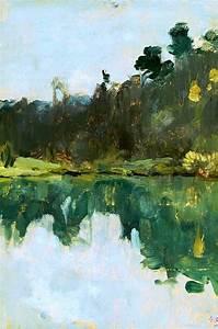 Arte, Isaac, Levitan, A, Lithuanian, Landscape, Painter