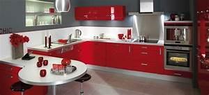 Lapeyre cuisine equipee photo 5 10 une cuisine equipee for Idee deco cuisine avec cuisine Équipée avec table intégrée