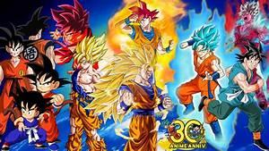 Son Goku Evolution (DB, DBZ, DBS And EOZ) by SonTj on ...