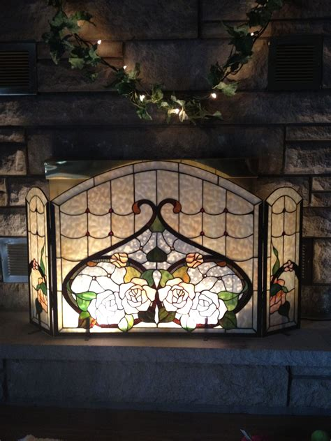 The 25 Best Stained Glass Fireplace Screen Ideas On