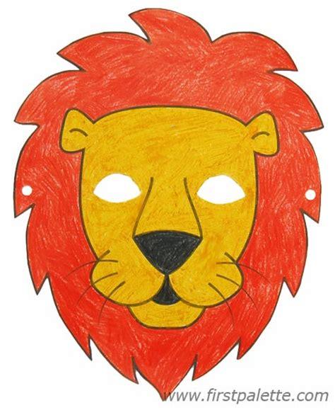 cut  circus lion templates   clip art