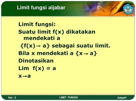 Sekarang mari kita bahas cara faktorisasi. PPT - LIMIT FUNGSI PowerPoint Presentation, free download - ID:6945135