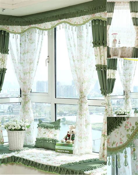 green shabby chic 28 best shabby chic curtains green romantic floral green blackout shabby chic curtains