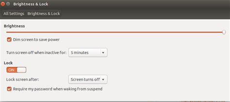 ubuntu how to enable password after lock suspend toontricks