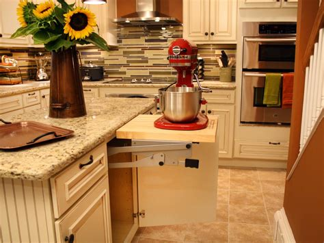 kitchen cabinet mixer lift how to build a cabinet shelf for a mixer how tos diy
