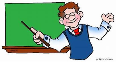 Clipart Teacher Male Math Clip Teachers Science