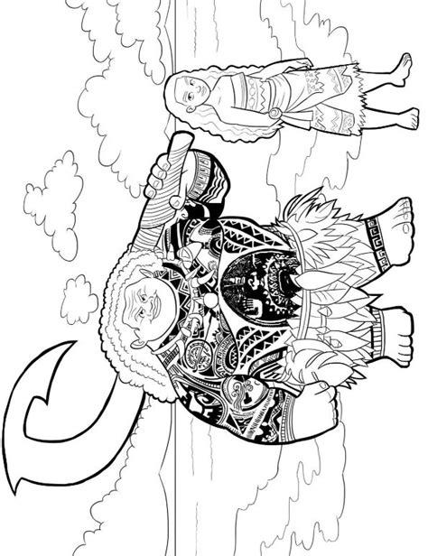 Kleurplaat Disney Vaiana by N 20 Coloring Pages Of Moana
