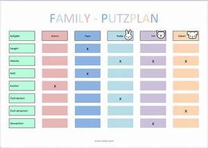 Haushaltsplan Für Teenager : putzplan vorlage kinder my things pinterest putzplan ~ Lizthompson.info Haus und Dekorationen