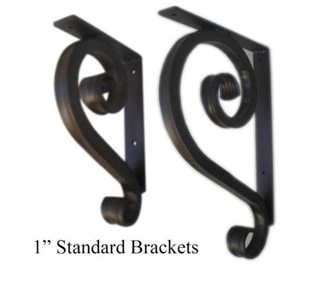 standard  wrought iron angle brackets  images