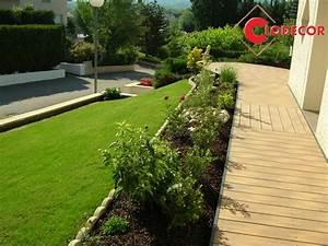 Idées Allée De Jardin : du bois composite pour mon all e de jardin ~ Melissatoandfro.com Idées de Décoration