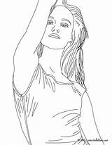 Coloring Pages Realistic Print Singer Person Vanessa Paradis Template Adults Printable Famous Adult Harmony Fifth Outline Cool French Easy Sketch sketch template