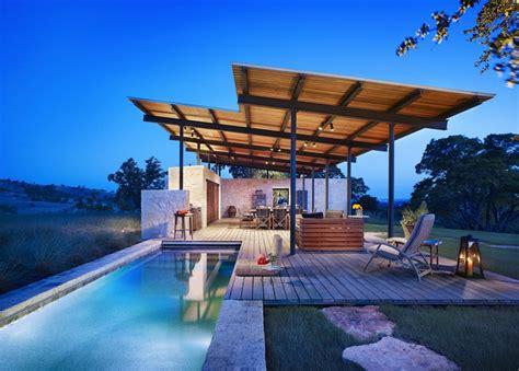Kitchen Design Ideas 2012 - story pool house lake flato