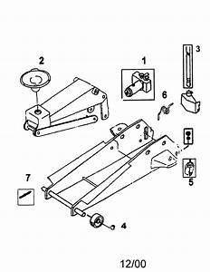 Jack Diagram  U0026 Parts List For Model 875501390 Craftsman