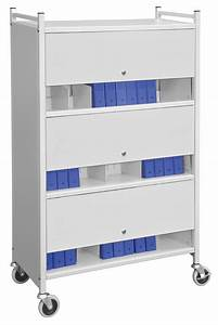 Poly Medical Chart Dividers Multipurpose Mobile 3 Shelf Chart Rack With Privacy Panels