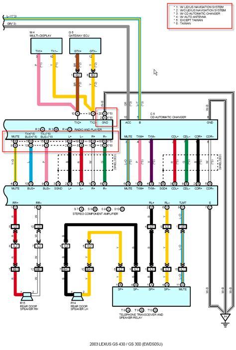 wiring diagram  clublexus lexus forum discussion