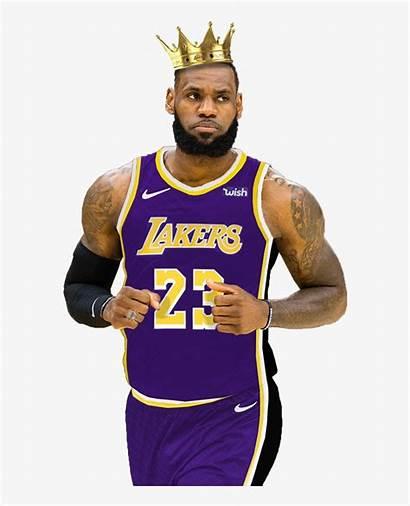 Lebron Lakers James King Cartoon Transparent Clipart