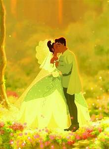 """Prince Naveen and his wife, Princess Tiana from """"The ..."""
