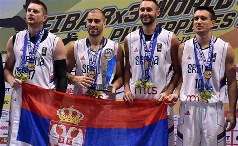 Basket reprezentacija Srbije brani petu titulu prvaka ...