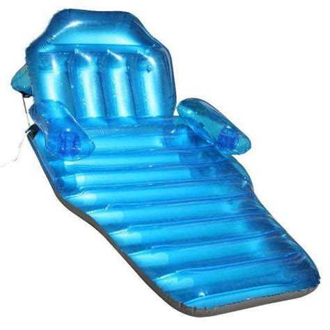 adjustable chaise float recliner pool fun float inflatable