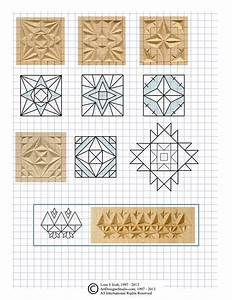 Chip, Carving, Cutting, Triangle, And, Square, Chips, In, Chip, Carving, Patterns, By, Lora, Irish