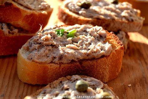 recette de cuisine facile et rapide pour le soir rillettes de sardines à la vache qui rit petits plats