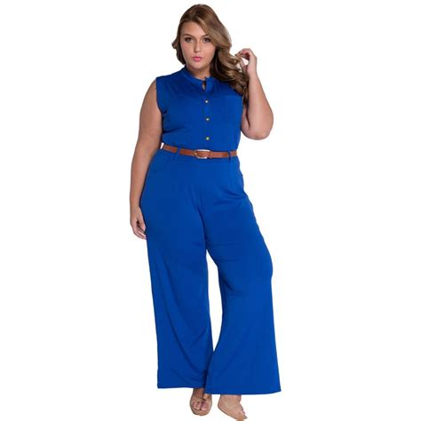 Sleeveless Overall 7 colors fashion big sleeveless maxi overalls belted