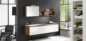 meuble suspendu a suspendre de salle de bains blog deco With meuble salle de bain à suspendre