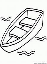 Bateau Boat Dessin Canoe Dibujo Drawing Barcas Colorear Coloring Coloriage Dibujos Chaloupe Canot Imprimir Colorier Grand Imprimer Printable Dessins Pintar sketch template