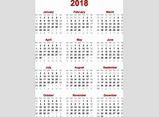 Chinese Lunar Calendar 2018 yearly calendar template