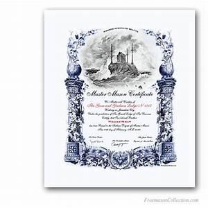 Customizable Award Certificates Masonic Certificates Awards And Diplomas Freemason