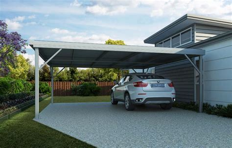 Steel Colorbond Carports  Wide Span Sheds