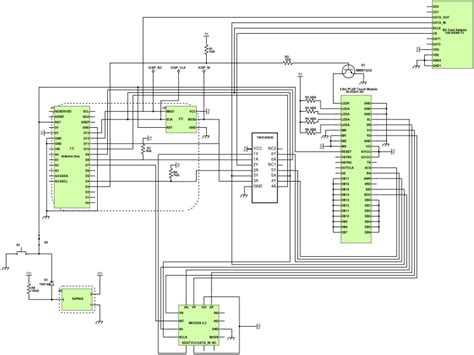 Schematics Inches Touch Screen Tft Lcd