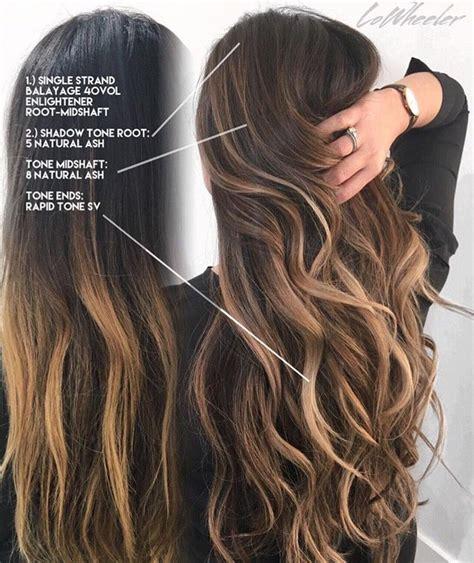 medium hair styles bringing up outgrown balayage hair 2093