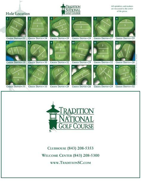 golf pinsheets golf pin location sheets