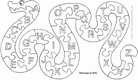 Childrens Alphabet Puzzles Freestanding Wooden Puzzles