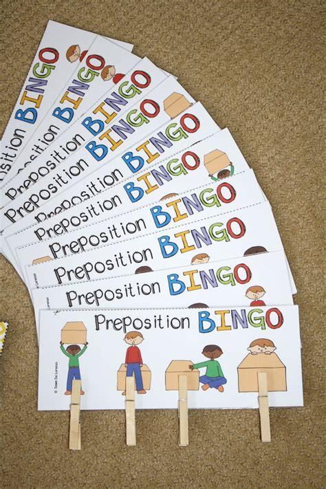 best 25 preposition activities ideas on 671 | 7c47acc2c8547cf8fe346e4414c1558a bingo cards preposition activities