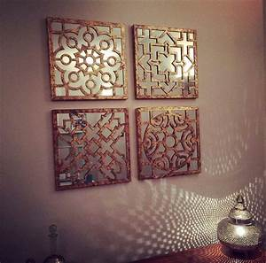moroccan wall mirror sets doherty house moroccan wall With moroccan wall art