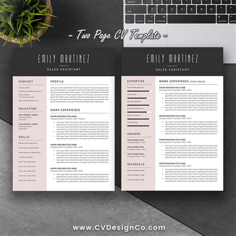Popular Cv Templates by Best Selling Office Word Resume Cv Templates Cover