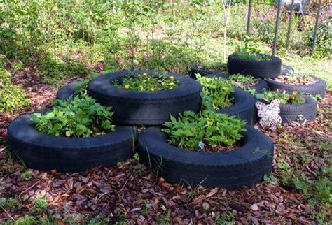 garden decoration using tyres arts crafts in nature sustainability through summer cs