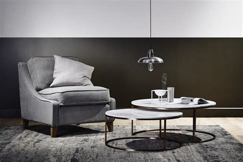 However, it still works well for the. Elle Round Marble Nest Coffee Tables by GlobeWest - Make ...