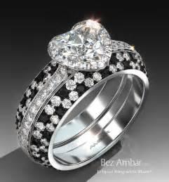 diamond huggie earrings eclipse ring set for heart shaped diamond