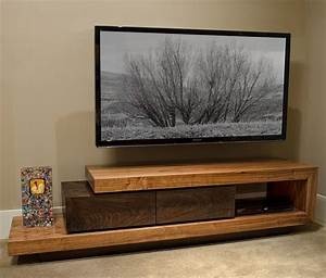 Walnut TV Stand Custom Furniture and Cabinetry in Boise