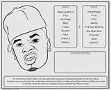 Coloring Rap Bun Activity Jumbo Rappers Libs Template Adult Adults sketch template