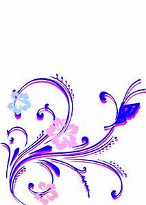 Clipart Flowers And Butterflies Border | Clipart Panda ...