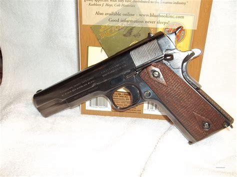 Colt 1911 Ww1 Original 45 Cal For Sale