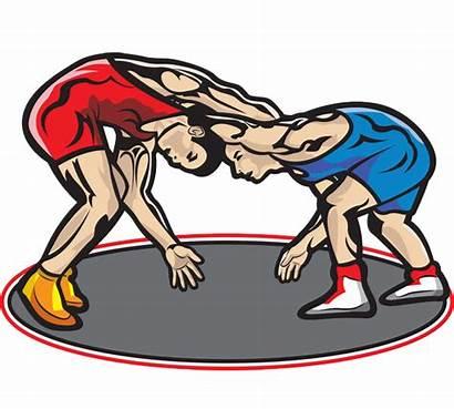 Wrestling Clipart Cartoon Mat Sports Clip Professional